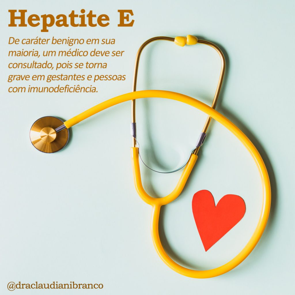 Dra Claudiani Branco fala sobre a Hepatite E. Imagem: Karolina Grabowska no Pexels.